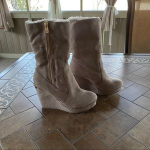 Juicy Couture Women's Platform Wedge Boots